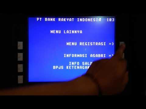Cara Mudah Registrasi SMS Notifikasi ( Pemberitahuan ) Di ATM BRI