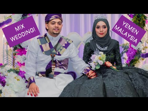 MIXED YEMEN-MALAYSIA WEDDING! IN THE HEART OF KUALA LUMPUR CITY
