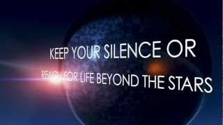 EVANS BLUE Beyond The Stars OFFICIAL LYRIC VIDEO