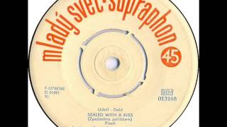 Pavel Bobek, Pavel Šváb & Olympic - Sealed With A Kiss [1964 Vinyl Records 45rpm]