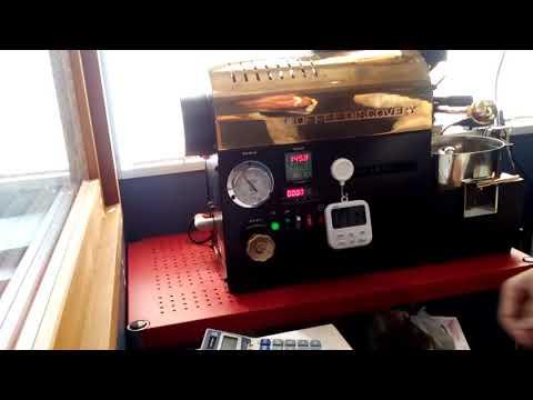 ベトナム アラビカ エバーグリーン ディスカバリーサンプル焙煎機動画|熊本のコーヒー豆ショップWATARU