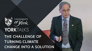 YorkTalks 2020: Turning the challenge of climate change into a solution