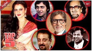 Rekha Married 5 Times In Her Life | Rekha's Most Controversial Love Affairs | Top 5 | Kholo.pk