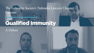 Click to play: Qualified Immunity: A Debate