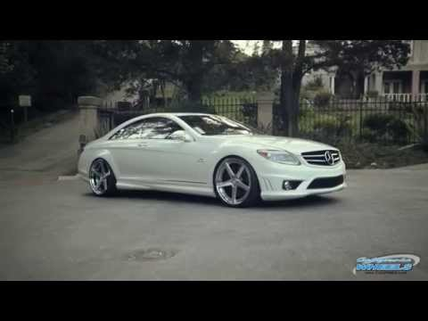 Mercedes CL65 AMG on Rennen R5 Concave Wheels by California Wheels