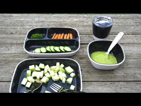Munchkin набор посуды Splash™ 7 предметов черный.