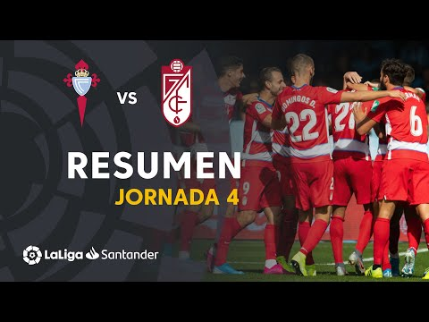 Resumen de RC Celta vs Granada CF (0-2)