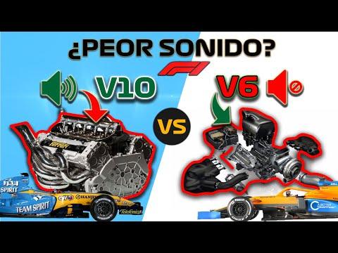 SONIDO F1 MOTOR V10 🔥 vs V6 Turbo Híbrido 🛑 *Renault R25* Fernando Alonso 2005 Alpine Formula 1 2021