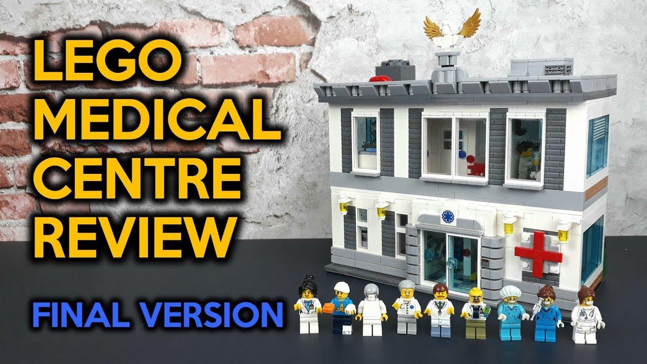 LEGO Medical Centre MOC Review (Final Version)