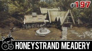 ★ Skyrim Mods Series - #197 - Honeystrand Meadery (building, brewing, making gold)