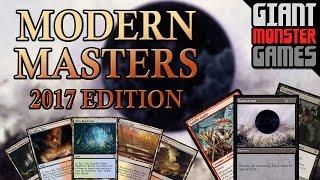 Modern Masters 2017 Spoilers - Feb 27 - Goblin Guide, Damnation, Enemy Fetch Lands & MORE!!!!
