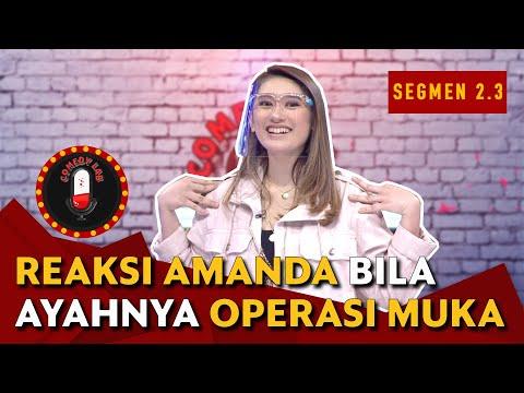 Jawaban Amanda Caesa Bila Ayah Parto Operasi Muka Jadi Ariel Noah - COMEDY LAB (BAG. 5)