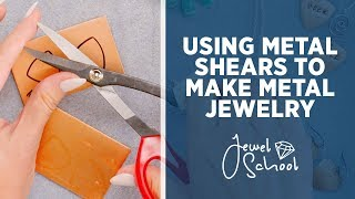 How To Use Metal Shears With Jewelry   Jewelry 101
