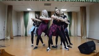 танец девочек 11 на 23 февраля 2017