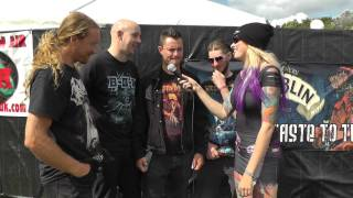 Kill All The Gentlemen interview with TotalRock @Bloodstock 2014