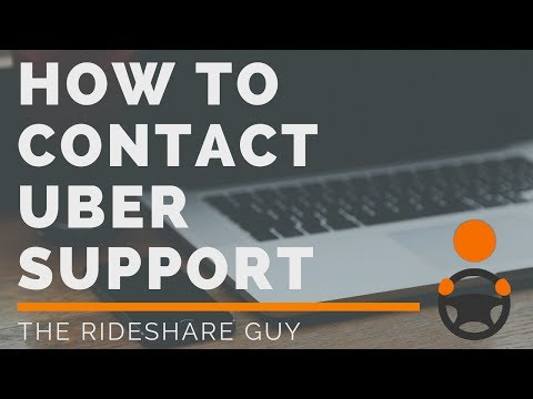 How To Contact Uber Support & Get Help FAST! - For Uber Drivers