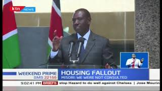Deputy President William Ruto: We are coming for 1.5% of your salary