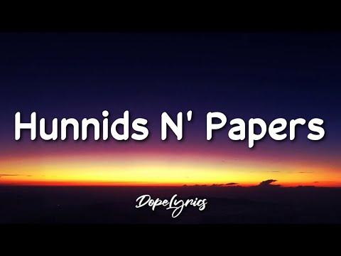 Khidjajay - Hunnids N' Papers (Ft. Shirlvin Desir, BigBaby)(Lyrics) 🎵