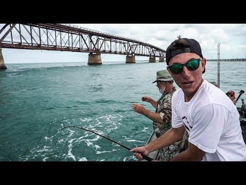 Tarpon fiskeri fra båd