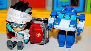 Щенячий патруль Мультик для детей Робокар Поли против Ромео Мультфильмы про Игрушки Видео для детей
