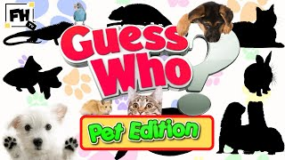 Guess Who? Kids Workout Pets Edition   What Is This? Kids & Family Fitness