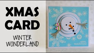 Christmas card - Winter Wonderland
