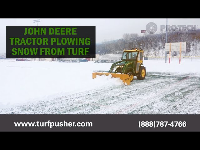 King's College - Pro-Tech Turf Pusher
