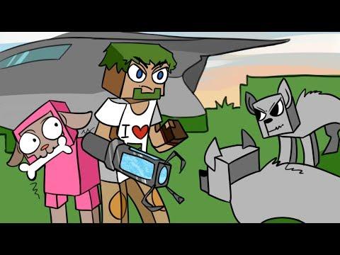 05. Инженер совершил ошибку!! Нападение волков!! - Lp.Выживший (Minecraft Let's Play)