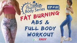 Abs & Full Body Workout | 15 Mins Cardio Abs | Beginner Fat Burning Workout Routine by Chloe Ting