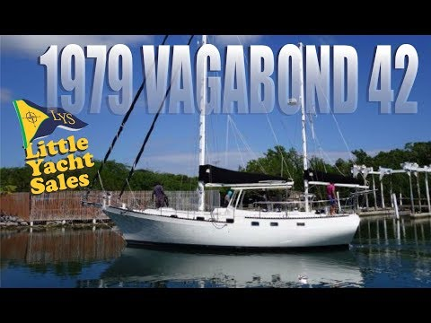 1979 Vagabond 42 Sailboat for sale at Little Yacht Sales, Kemah Texas