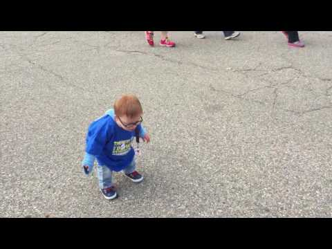 Thumbs Up for Down syndrome walk