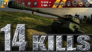 14 ФРАГОВ ЗА БОЙ 🌟 НЕ СМОГЛИ ЗАБИТЬ ТОЛПОЙ 🌟 Китайский ТТ 110 World of Tanks лучший бой
