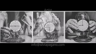 Drawing Pencil Hyperrealism – THE WRINKLES OF THE TIME – time-lapse – Silvia Pagano Art