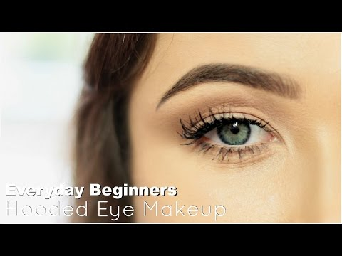 Beginner Eye Makeup For Hooded Eye | Everyday Hooded