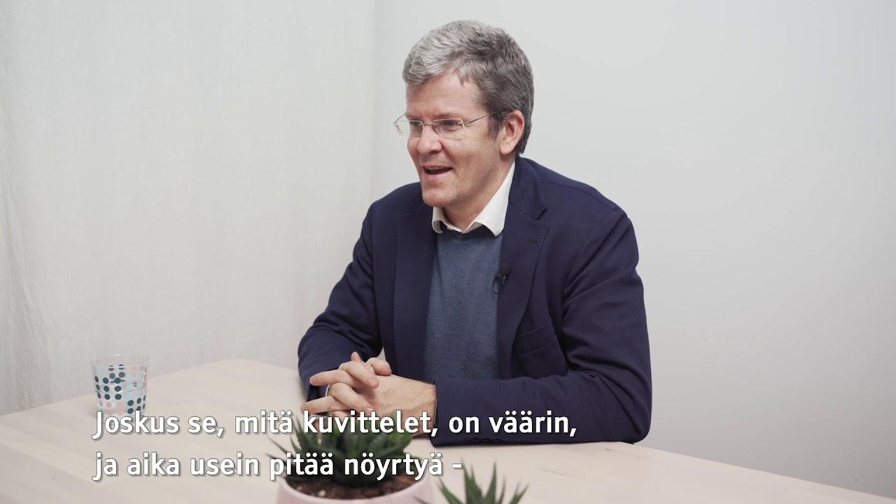 Vesa Kiviniemi: Nöyrää työtä ja huippuluokan tiedettä