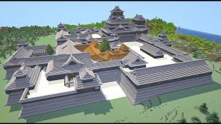 「江戸中期の熊本城を完全再現。サバイバル6年分の丸石チェストが火を吹くぜ」のサムネイル