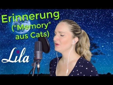 Erinnerung (Musical Cats - Memory) gesungen von Lila
