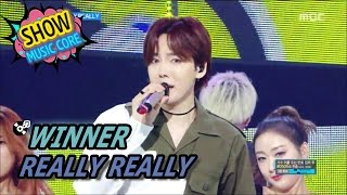 [HOT] WINNER - REALLY REALLY, 위너 - 릴리릴리 Show Music core 20170520