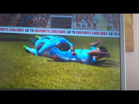 FUNNY SUAREZ AND WALCOTT FIFA 12