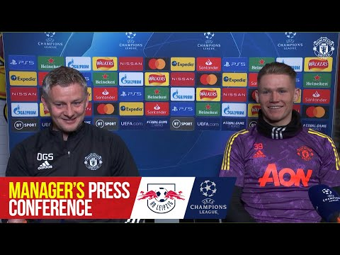 Pre-Match Press Conference | Manchester United v RB Leipzig | UEFA Champions League