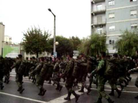 Desfile da Brigada de reacção rápida em Braga 2009
