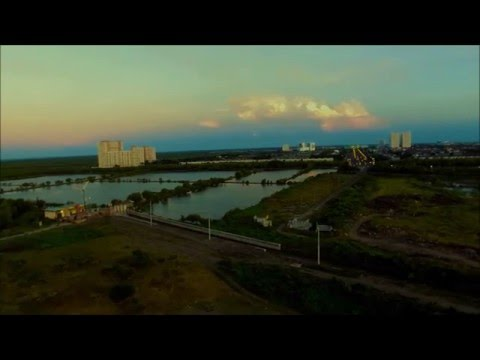 Strong Wind DJI Phantom 3 | KenPark Surabaya | Part 2