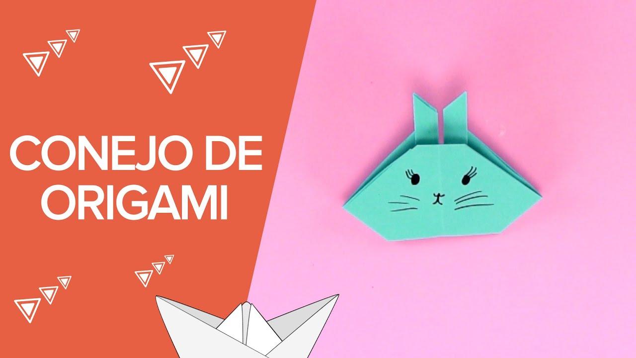 Cómo hacer un conejo de origami paso a paso | Papiroflexia infantil
