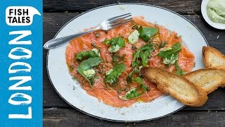 SALMON CARPACCIO | Bart's Fish Tales & My Virgin Kitchen by Bart's Fish Tales