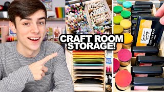 Amazing Craft Room Organization! - Stamp-N-Storage
