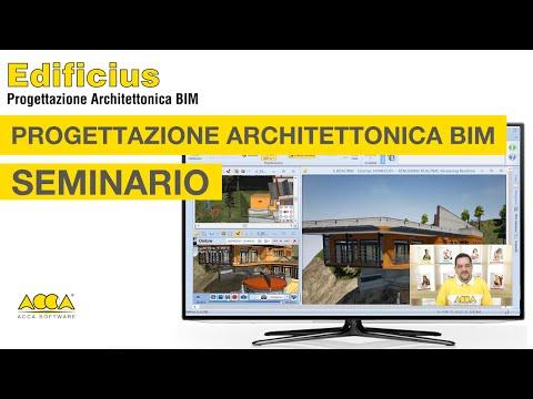 Progettazione Architettonica BIM  - SEMINARIO Edificius