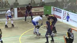 preview picture of video 'Rink Hockey Ligue des Champions: HC Dinan-Quévert recevait le Barça'