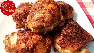 Air Fryer Juicy Chicken Thighs - No breading - Air Fryer Recipes