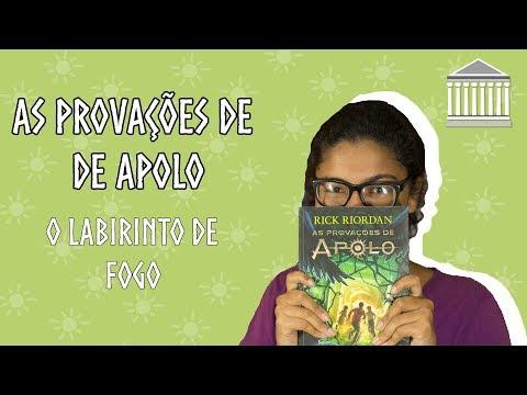 AS PROVAÇÕES DE APOLO O LABIRINTO DE FOGO (SEM SPOILER) | MONTE OLIMPO