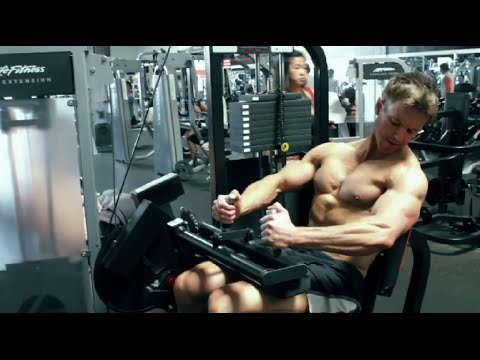 Seated Leg Curl Hamstring Exercise